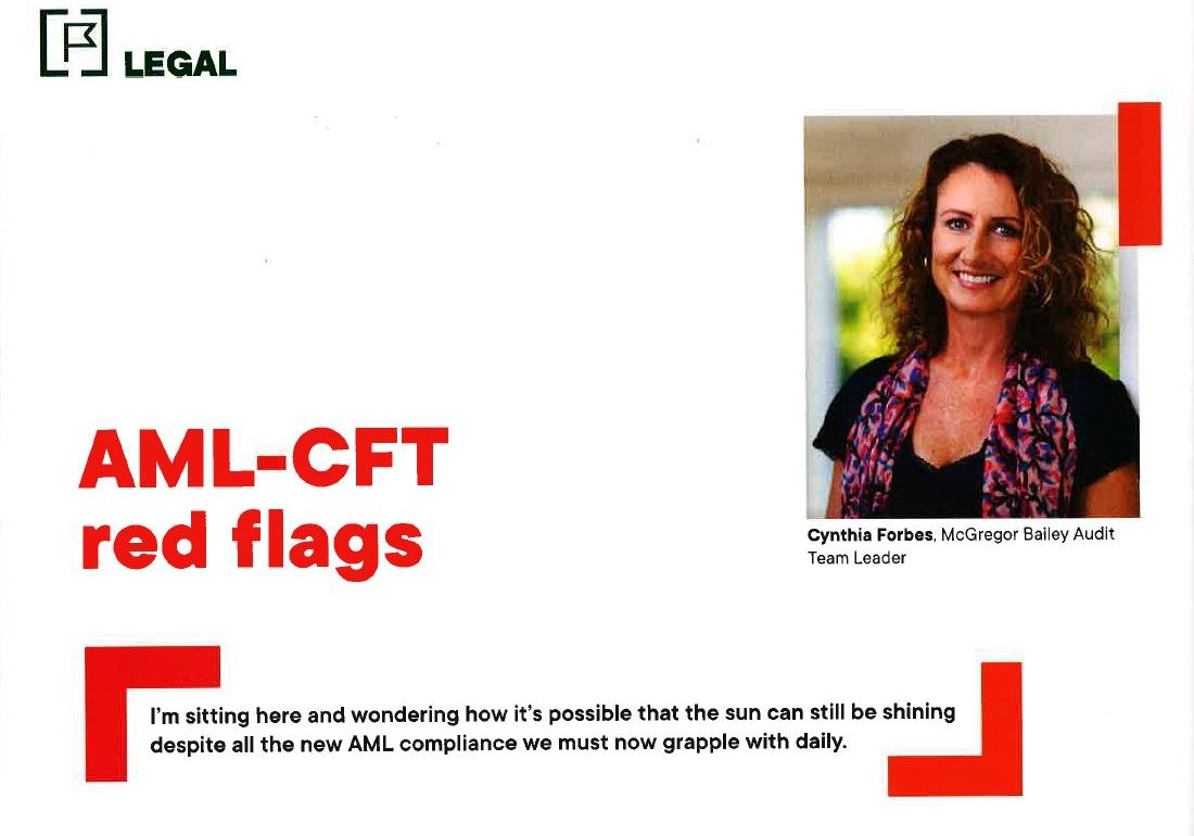 AML CFT red flags